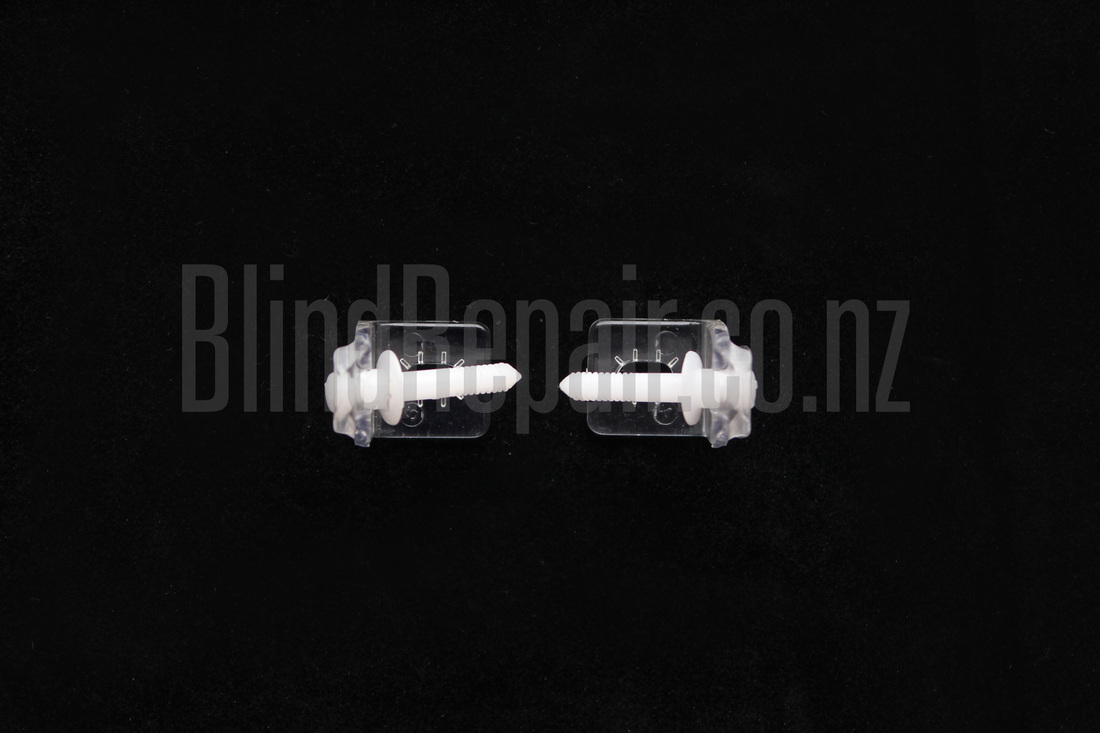 Luxaflex Blinds - Slimline® Venetian Hold Downs Clips and Pins Combo Wellington New Zealand NZ