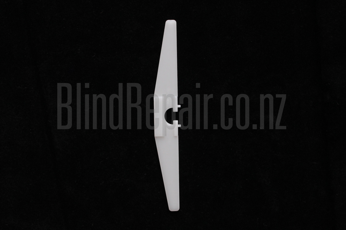 Luxaflex - Vertical blind - Old 100mm Techno Slat Holder Auckland New Zealand NZ
